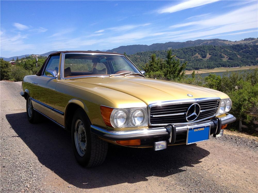 1973 MERCEDES-BENZ 450SL CONVERTIBLE - Front 3/4 - 174502