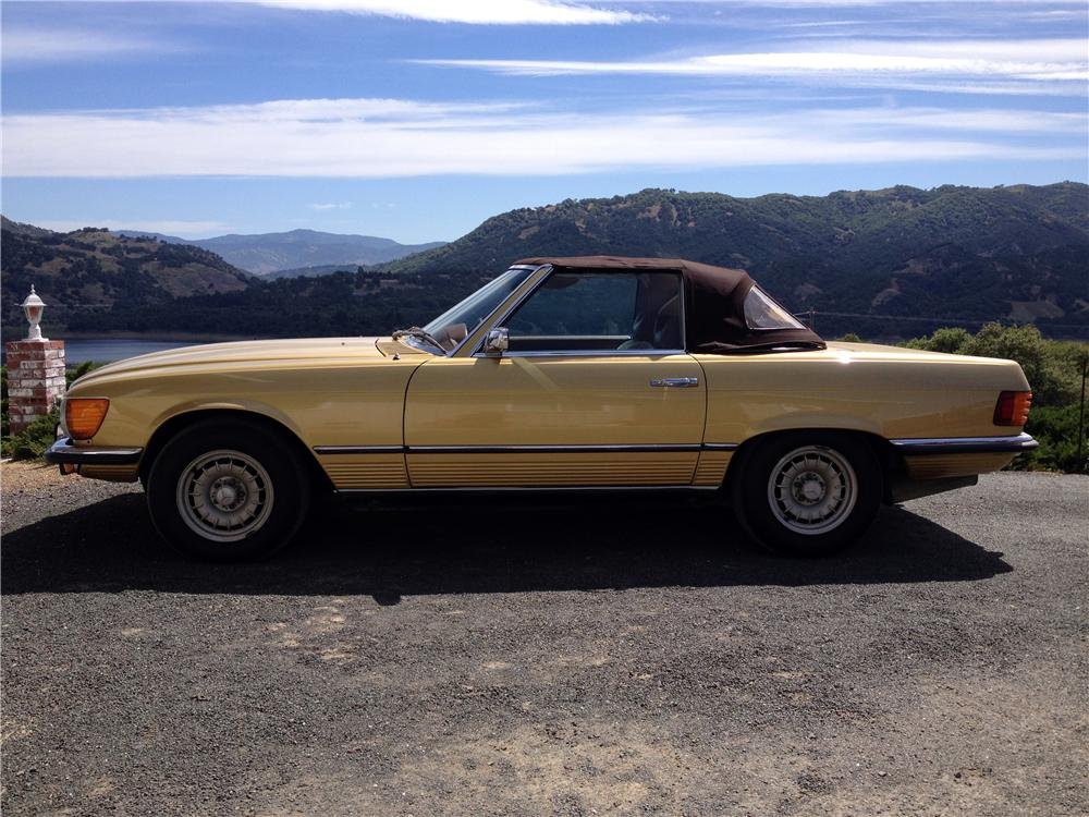 1973 MERCEDES-BENZ 450SL CONVERTIBLE - Side Profile - 174502