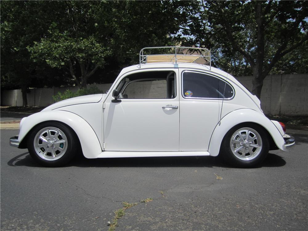 1969 VOLKSWAGEN BEETLE CUSTOM 2 DOOR SEDAN - Side Profile - 174504