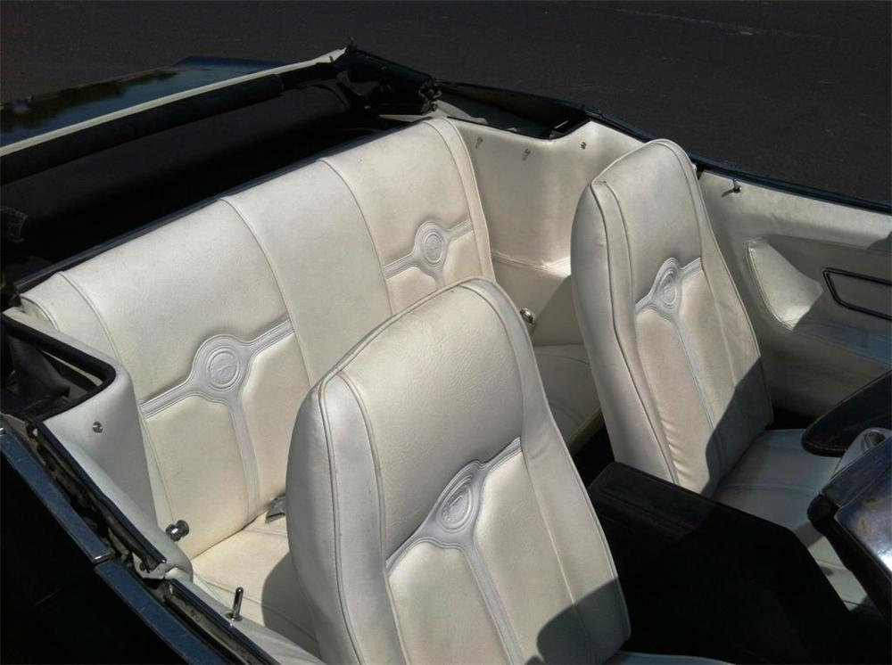 1972 MERCURY COUGAR XR7 CONVERTIBLE - Interior - 174506