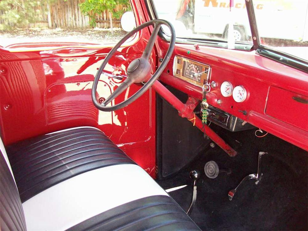 1942 FORD 1/2 TON CUSTOM PICKUP - Interior - 174510