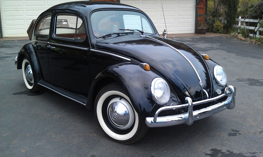 1960 VOLKSWAGEN BEETLE 2 DOOR COUPE - Front 3/4 - 174518