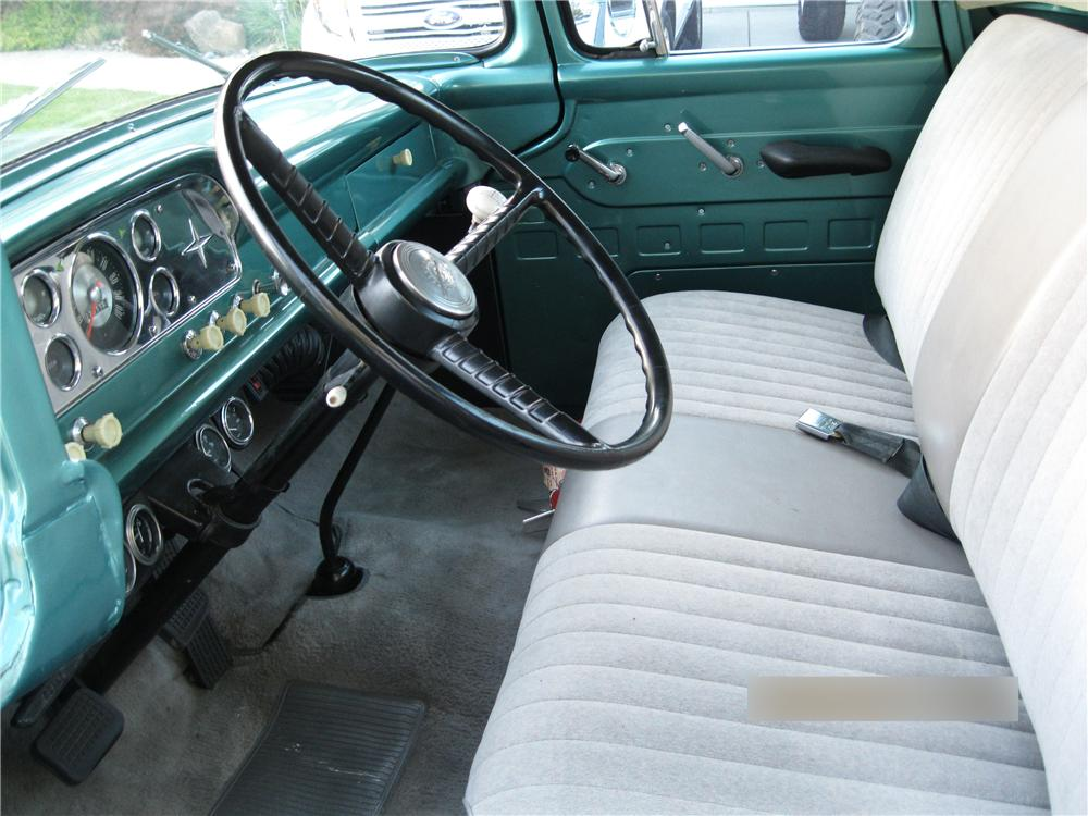 1959 FORD F-100 PICKUP - Interior - 174520