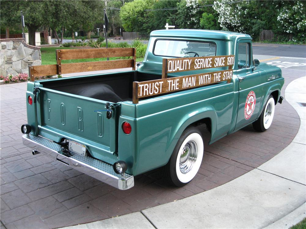 1959 FORD F-100 PICKUP - Rear 3/4 - 174520