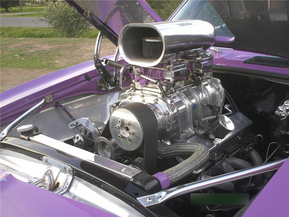 1968 CHEVROLET CAMARO CUSTOM 2 DOOR COUPE - Engine - 174533