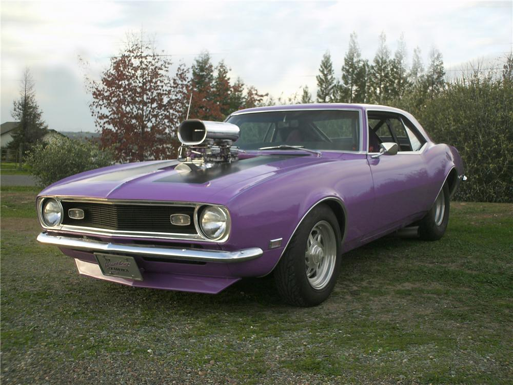 1968 CHEVROLET CAMARO CUSTOM 2 DOOR COUPE - Front 3/4 - 174533