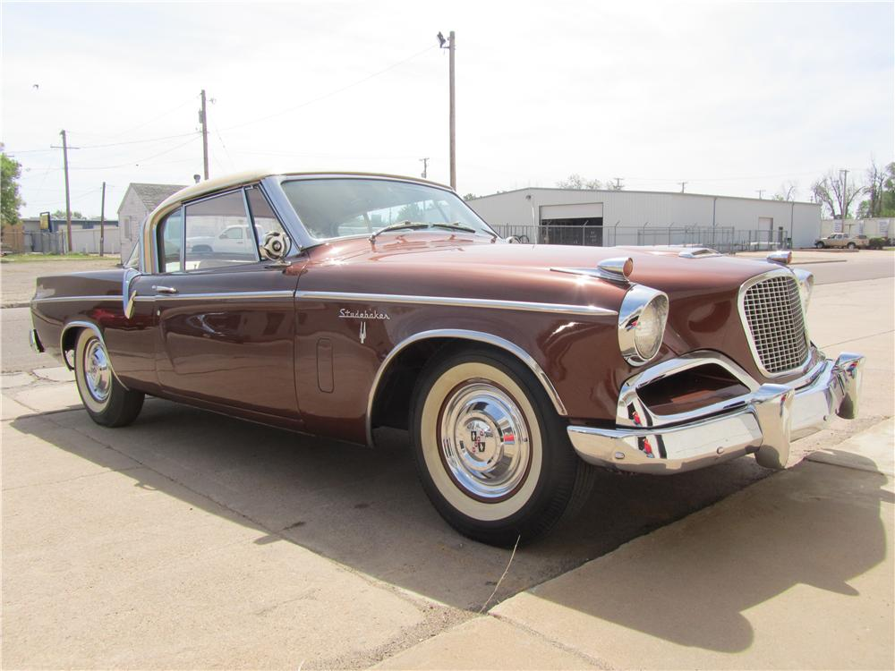 1956 STUDEBAKER GOLDEN HAWK 2 DOOR HARDTOP - Front 3/4 - 174537