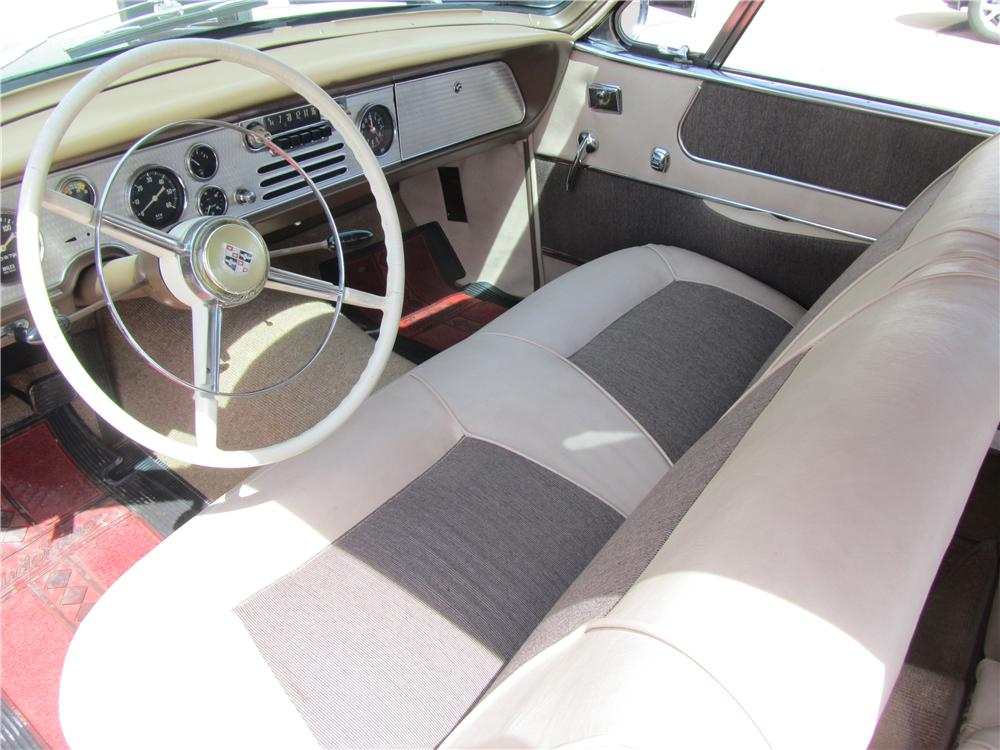 1956 STUDEBAKER GOLDEN HAWK 2 DOOR HARDTOP - Interior - 174537