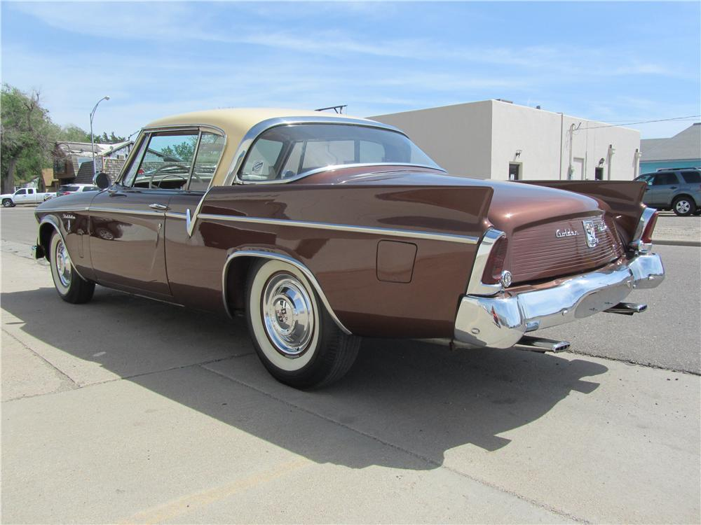 1956 STUDEBAKER GOLDEN HAWK 2 DOOR HARDTOP - Rear 3/4 - 174537
