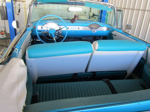 1955 CHEVROLET BEL AIR CONVERTIBLE - Interior - 174539