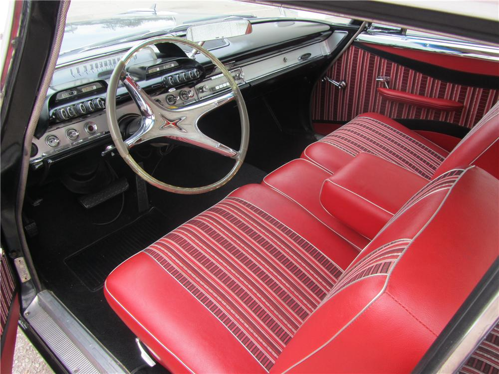 1960 DODGE DART PHOENIX D500 2 DOOR HARDTOP - Interior - 174540