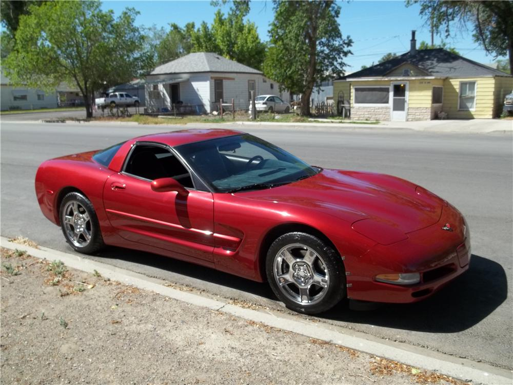 1997 CHEVROLET CORVETTE 2 DOOR COUPE - Side Profile - 174544