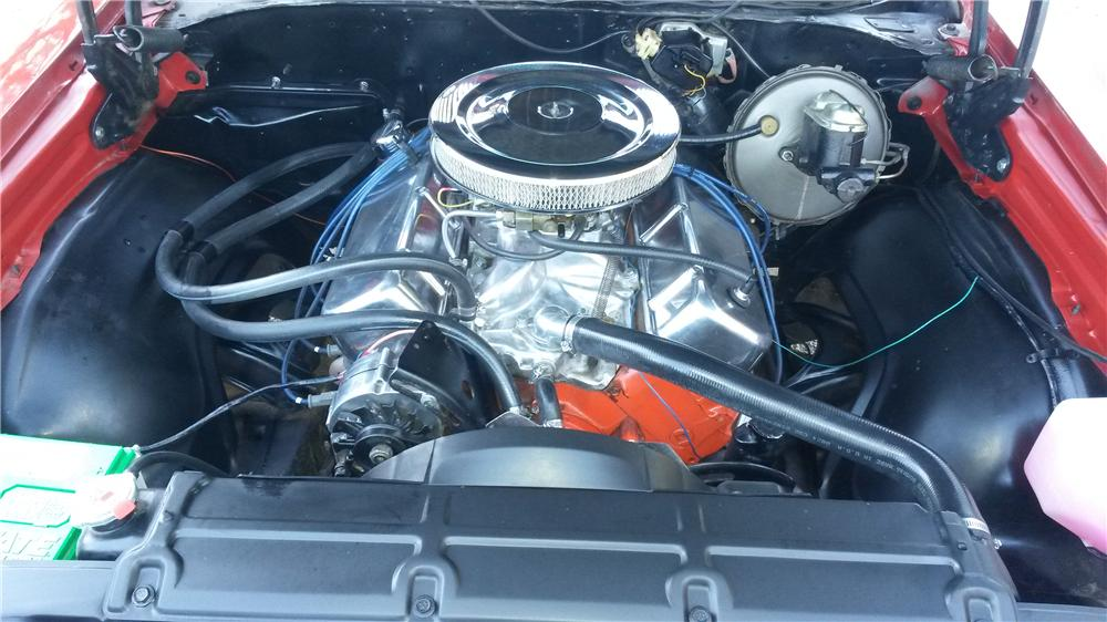 1969 CHEVROLET EL CAMINO CUSTOM PICKUP - Engine - 174548