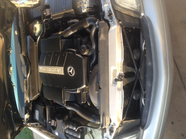 1999 MERCEDES-BENZ SL500 CONVERTIBLE - Engine - 174570