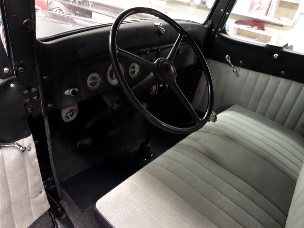 1936 CHEVROLET 1/2 TON PICKUP - Interior - 174575