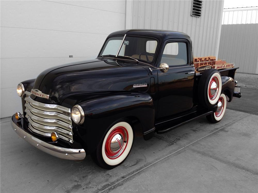 1947 CHEVROLET 3100 PICKUP 174584 on coolest red trucks ford and chevy