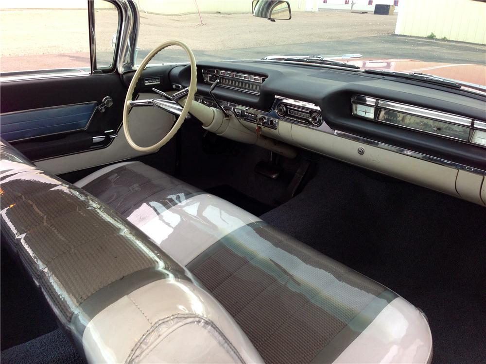 1959 OLDSMOBILE 98 2 DOOR COUPE - Interior - 174585
