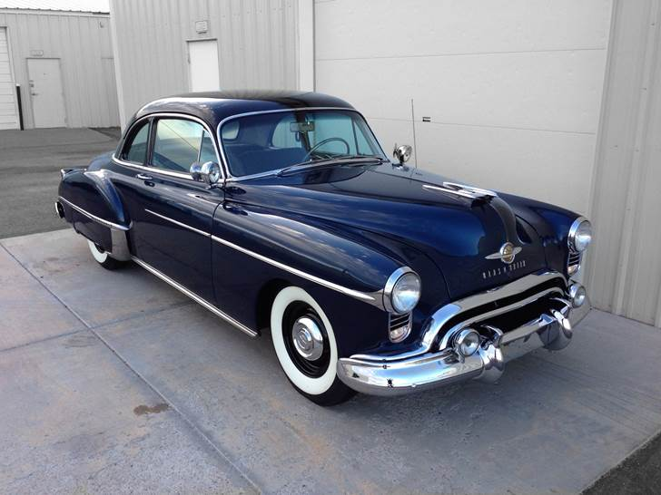 1950 OLDSMOBILE DELUXE 88 CLUB COUPE - Front 3/4 - 174586