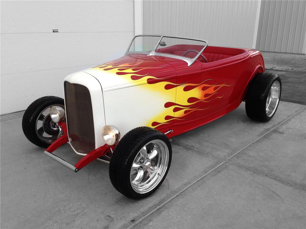 1932 FORD HI-BOY CUSTOM ROADSTER - Front 3/4 - 174592