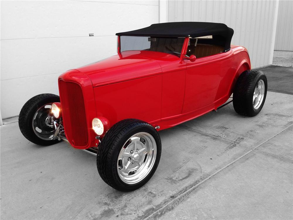 1932 FORD HI-BOY CUSTOM ROADSTER - Front 3/4 - 174593