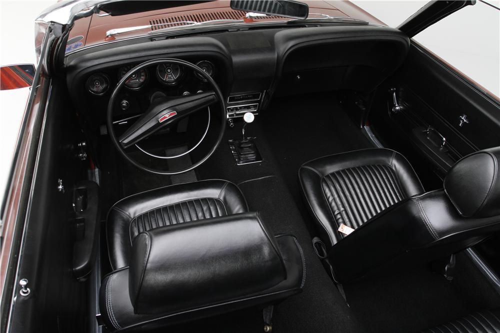 1969 FORD MUSTANG CONVERTIBLE - Interior - 174598