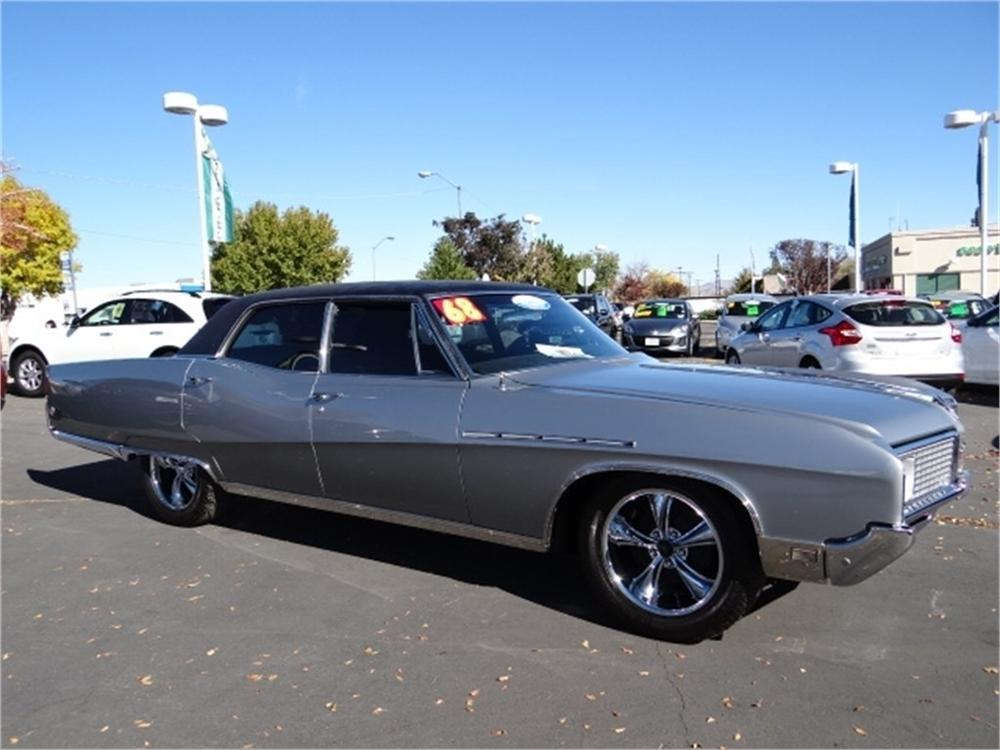 1968 BUICK ELECTRA 225 4 DOOR HARDTOP - Side Profile - 174599