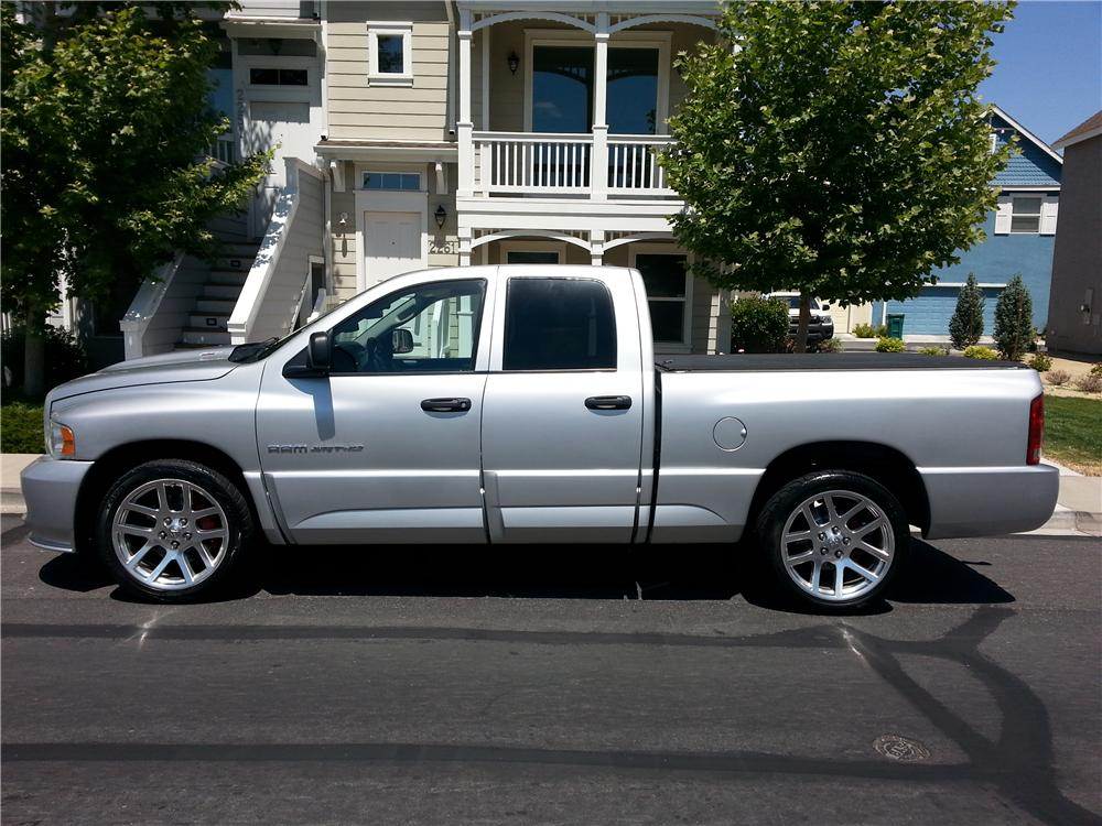 2005 DODGE RAM SRT-10 PICKUP - Side Profile - 174600