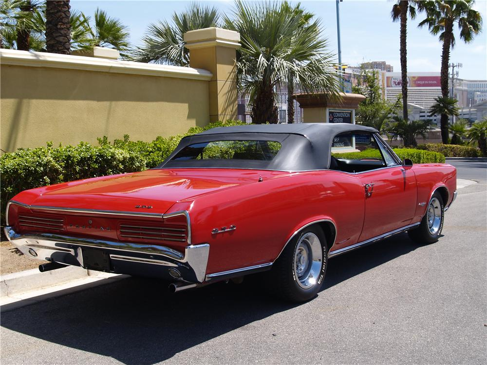 1966 pontiac gto convertible 174609. Black Bedroom Furniture Sets. Home Design Ideas
