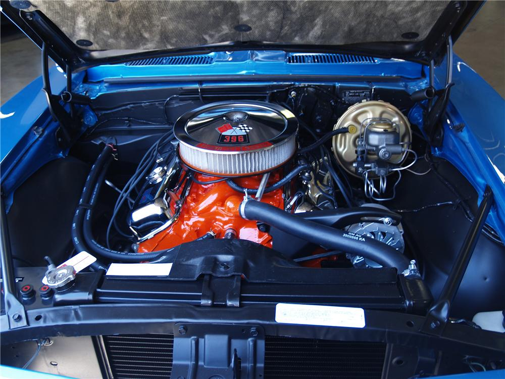 1968 CHEVROLET CAMARO SS 2 DOOR COUPE - Engine - 174612