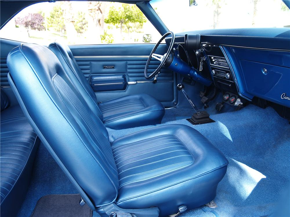 1968 CHEVROLET CAMARO SS 2 DOOR COUPE - Interior - 174612