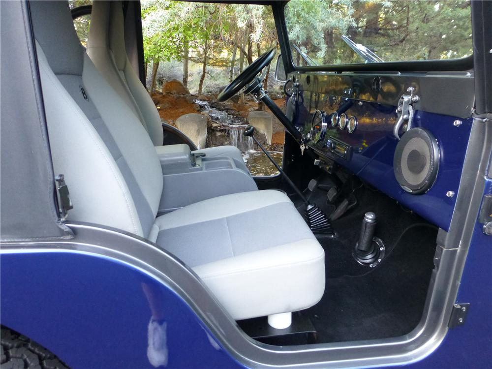 1969 JEEP CJ-5 4X4 - Interior - 174614