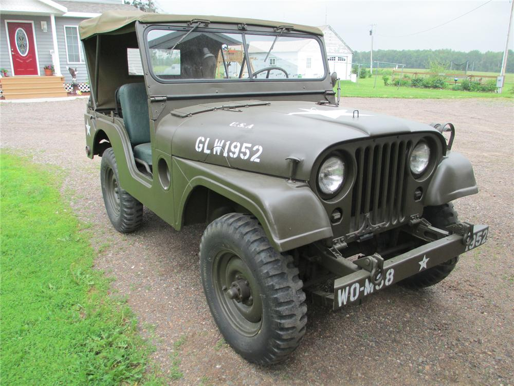 1952 WILLYS JEEP  - Front 3/4 - 174617