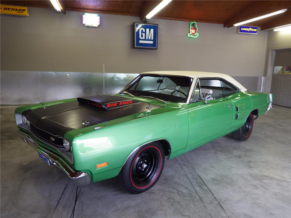1969 DODGE SUPER BEE 2 DOOR HARDTOP - Front 3/4 - 174623