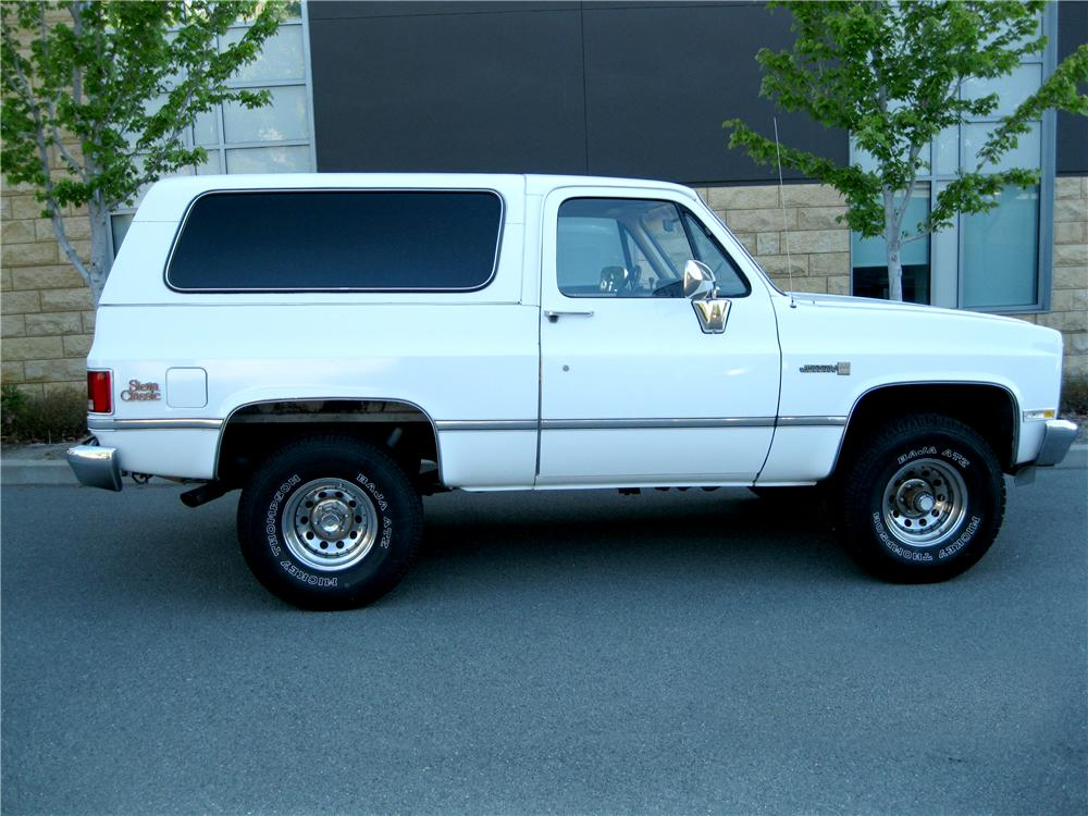 1983 Gmc Jimmy For Sale