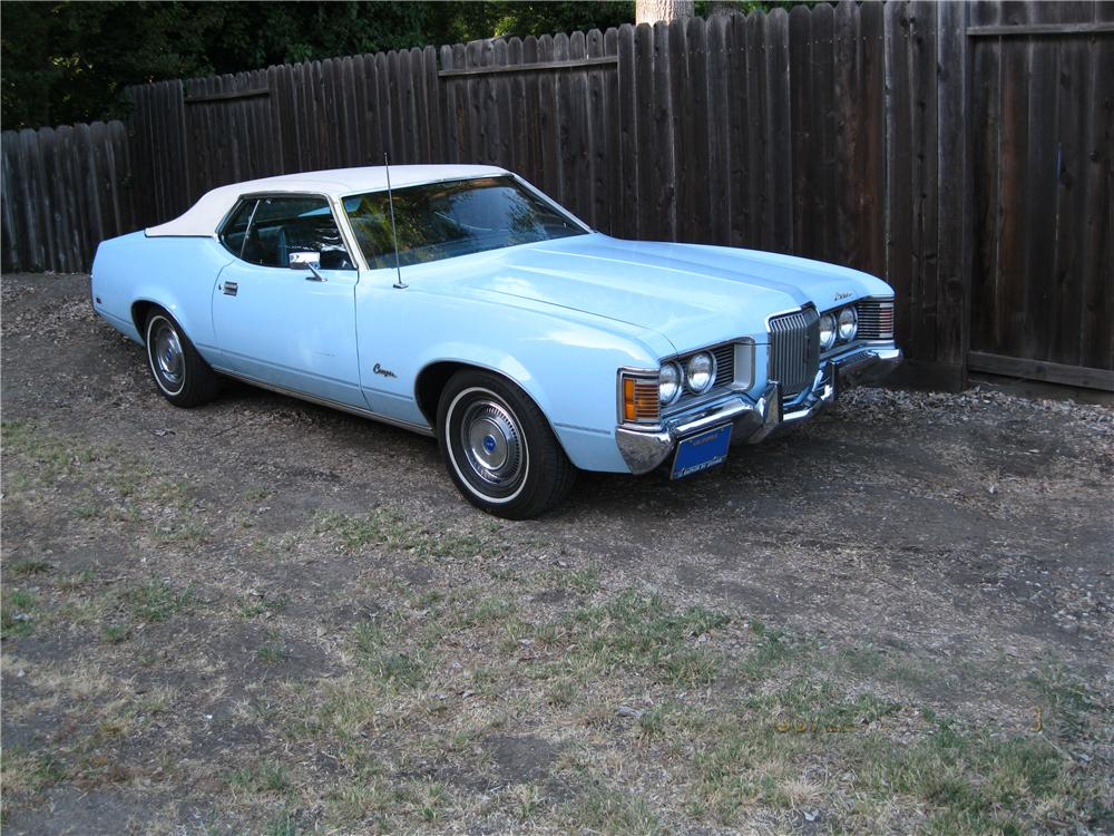 1972 MERCURY COUGAR 2 DOOR COUPE - Front 3/4 - 174628
