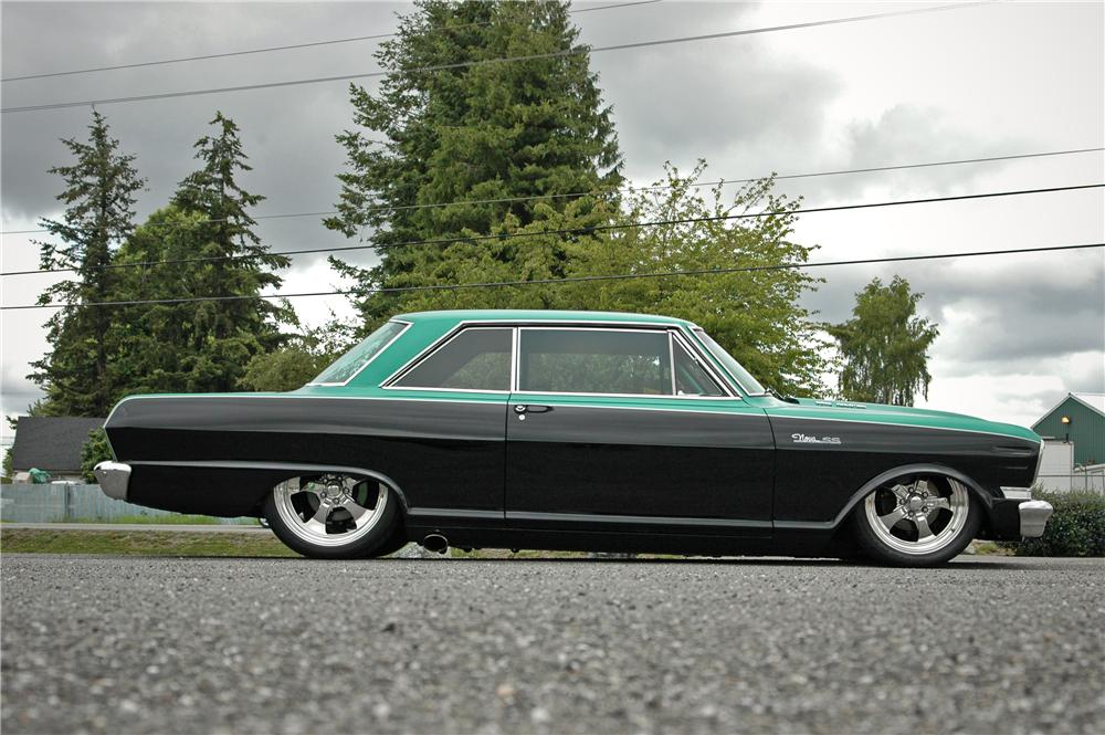 1964 CHEVROLET NOVA CUSTOM 2 DOOR HARDTOP - Interior - 174636