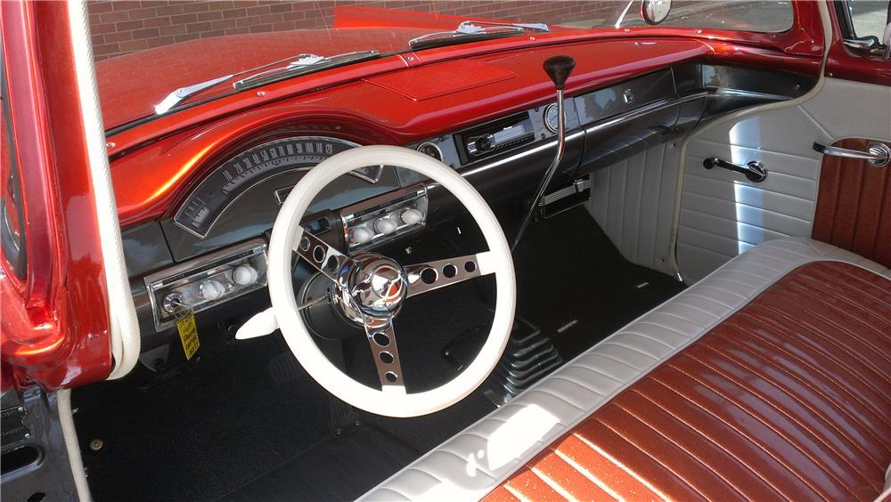 1957 FORD RANCHERO CUSTOM PICKUP - Interior - 174641