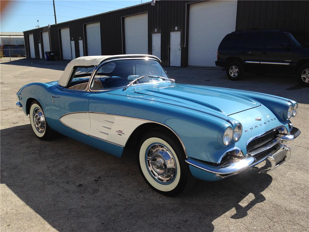1961 chevrolet corvette convertible 174643. Black Bedroom Furniture Sets. Home Design Ideas