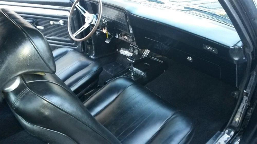 1969 CHEVROLET NOVA 2 DOOR COUPE - Engine - 174657