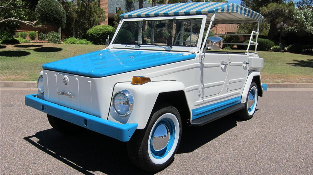 1974 VOLKSWAGEN THING ACAPULCO 4 DOOR OPEN TOP - Front 3/4 - 174659