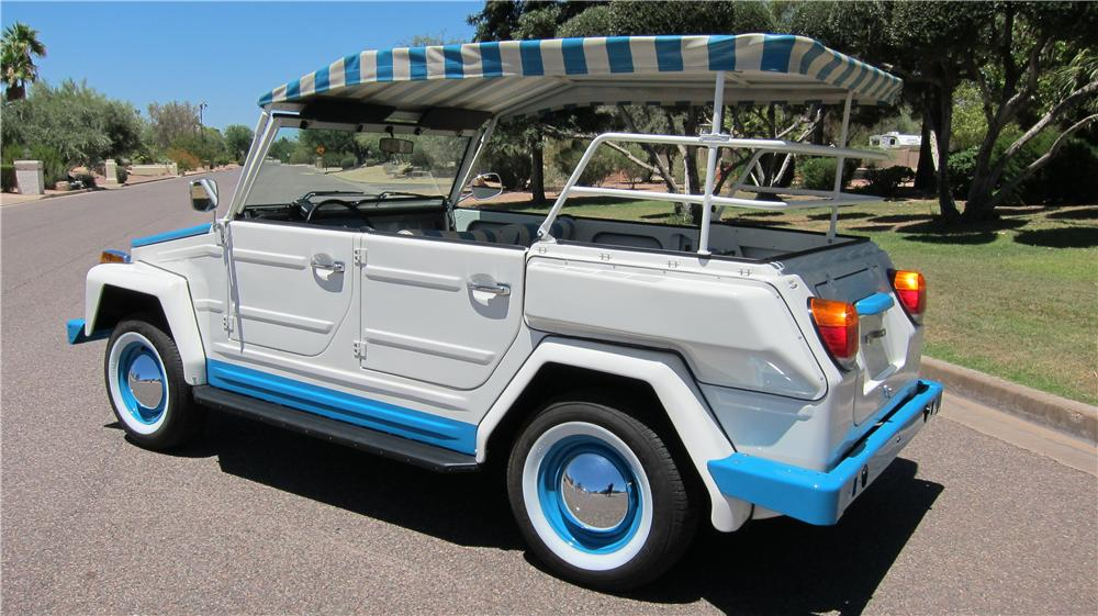 1974 VOLKSWAGEN THING ACAPULCO 4 DOOR OPEN TOP - Rear 3/4 - 174659