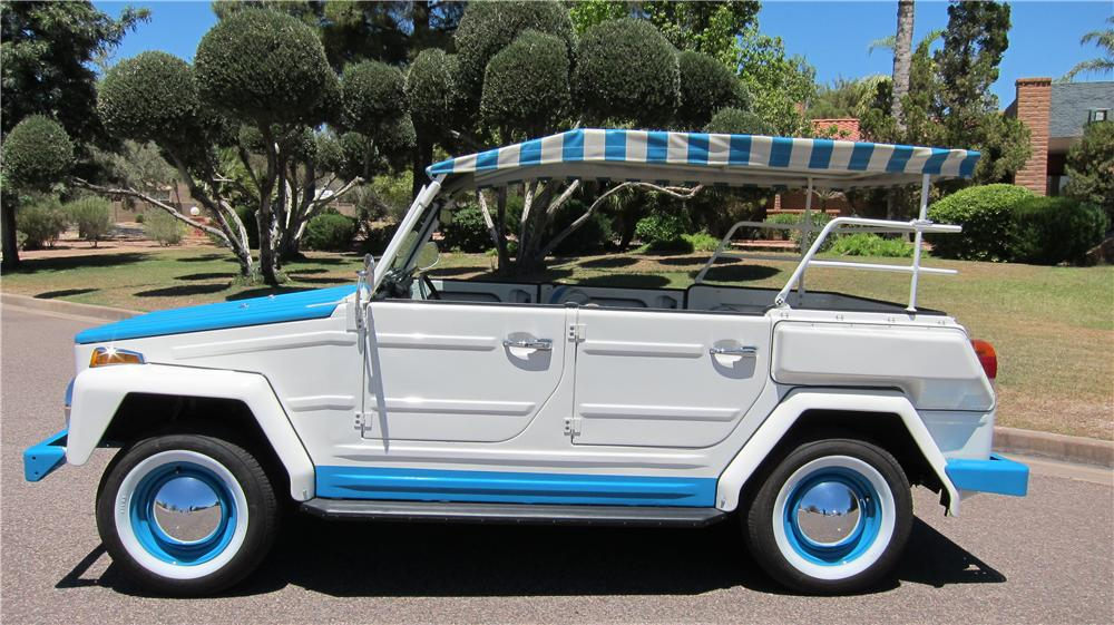 1974 VOLKSWAGEN THING ACAPULCO 4 DOOR OPEN TOP - Side Profile - 174659