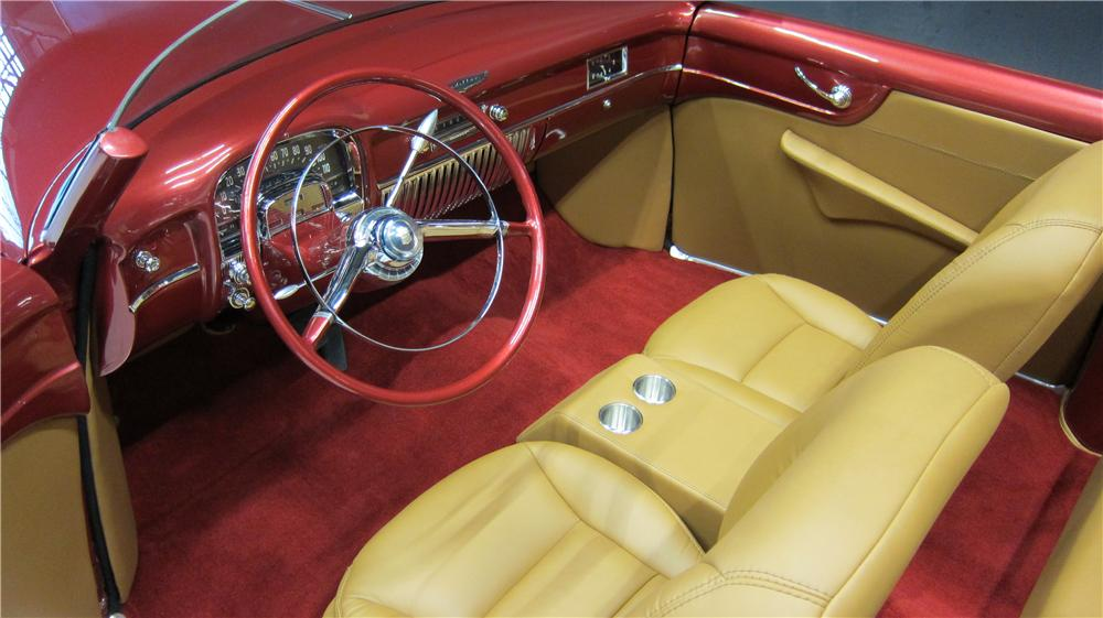 1952 CADILLAC CUSTOM TOPLESS ROADSTER - Interior - 174660