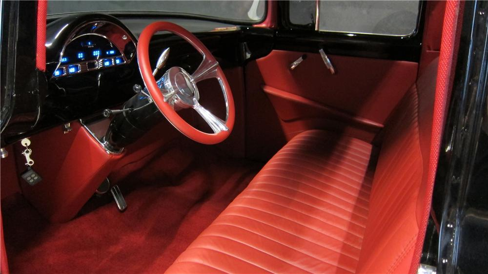 1956 ford f 100 custom pickup 174662. Black Bedroom Furniture Sets. Home Design Ideas