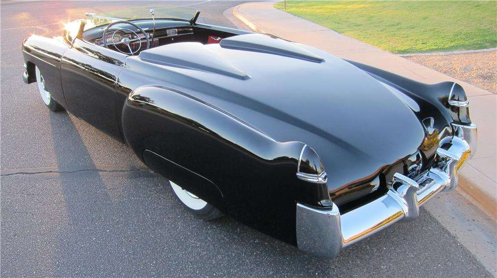 1949 CADILLAC CUSTOM TOPLESS ROADSTER - Rear 3/4 - 174663