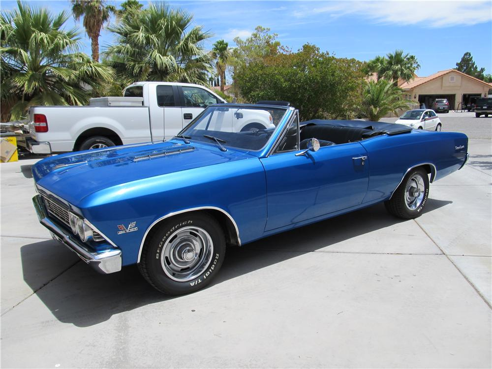 1966 chevrolet chevelle ss 396 convertible 174667. Black Bedroom Furniture Sets. Home Design Ideas