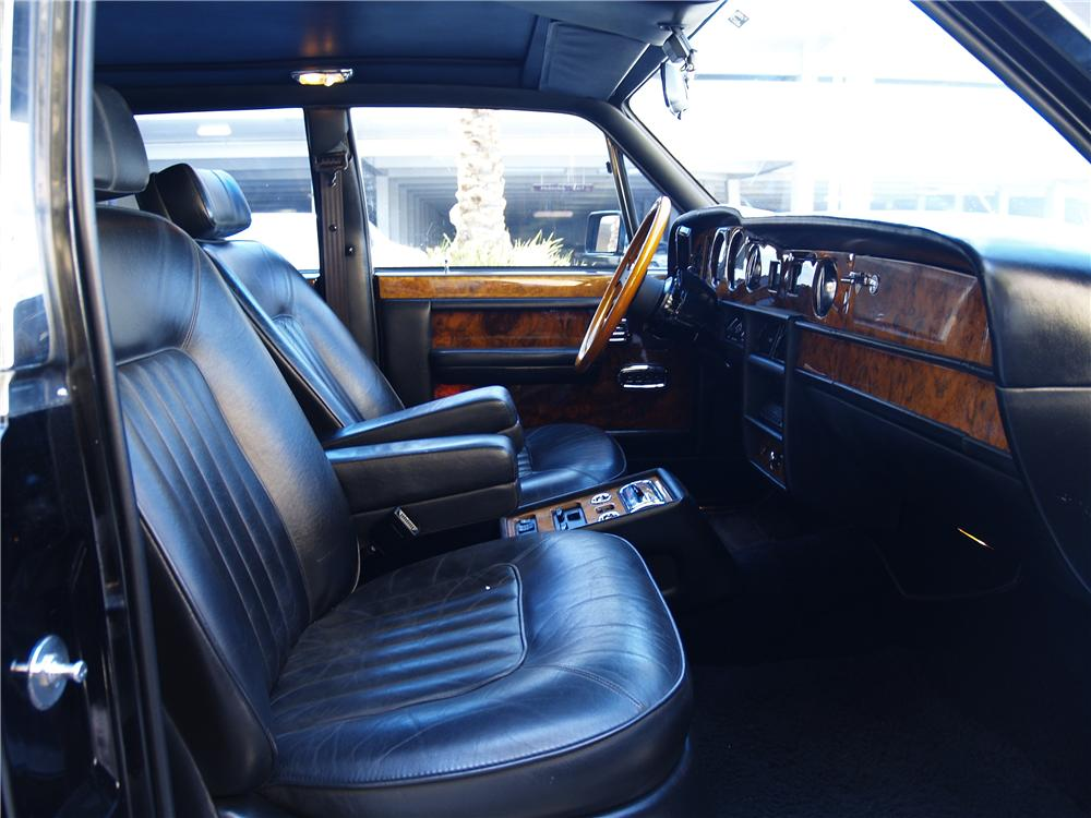 1989 ROLLS-ROYCE SILVER SPUR 4 DOOR SEDAN - Interior - 174672