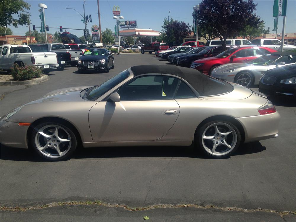 2002 PORSCHE 996 CONVERTIBLE - Side Profile - 174677