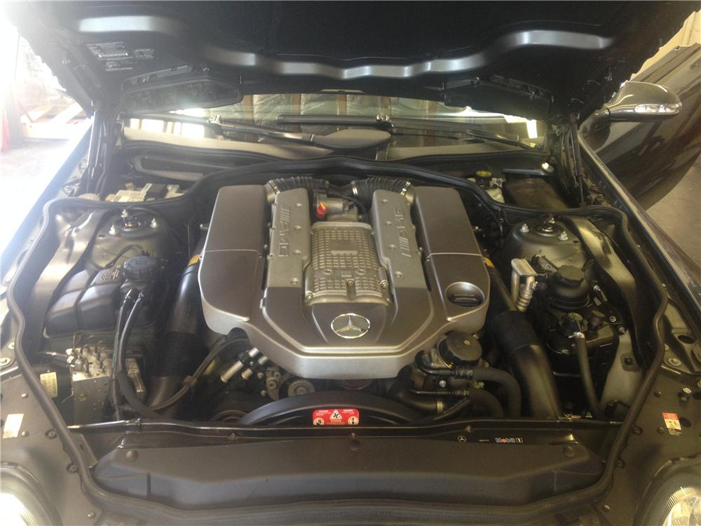 2003 MERCEDES-BENZ SL55 AMG CONVERTIBLE - Engine - 174681