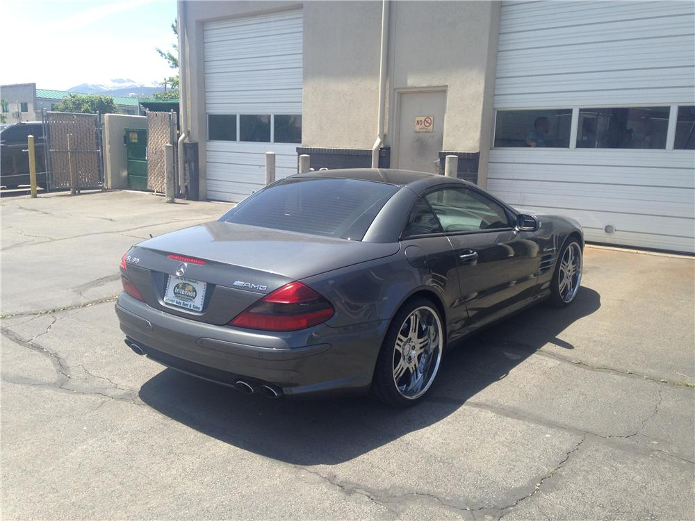 2003 MERCEDES-BENZ SL55 AMG CONVERTIBLE - Rear 3/4 - 174681
